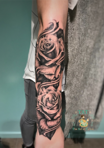 Tattoo rozen
