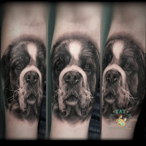Tattoo hond